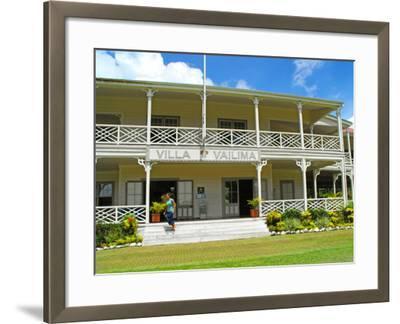 Villa Vailima, Apia, Samoa--Framed Photographic Print