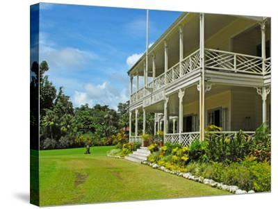 Villa Vailima, Apia, Samoa--Stretched Canvas Print