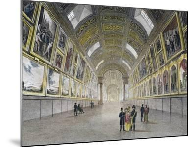 Great Gallery of Louvre, France, 18th Century--Mounted Photographic Print