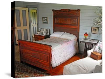 Isobel's Bedroom, Villa Vailima, Apia, Samoa--Stretched Canvas Print