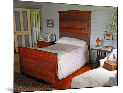 Isobel's Bedroom, Villa Vailima, Apia, Samoa--Mounted Photographic Print