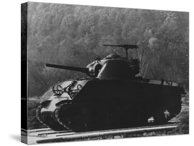 The General Sherman Tank--Stretched Canvas Print
