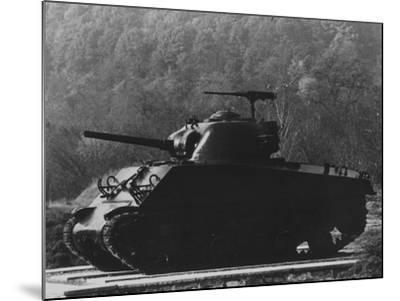 The General Sherman Tank--Mounted Photographic Print