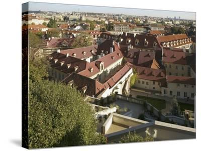 Little Quarter, Prague, Czech Republic--Stretched Canvas Print