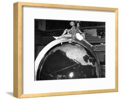 Pan Am Globe at Dinner Key, C.1935--Framed Photographic Print