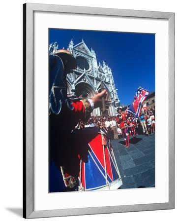 Palio, Siena, Tuscany, Italy--Framed Photographic Print