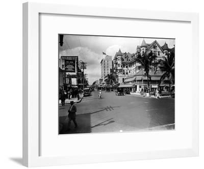 The Halcyon Hotel, 1924--Framed Photographic Print