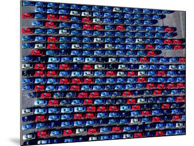 Cars at Bristol Docks--Mounted Photographic Print