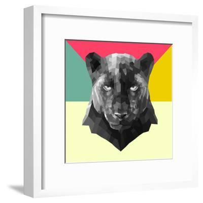 Party Panther-Lisa Kroll-Framed Art Print