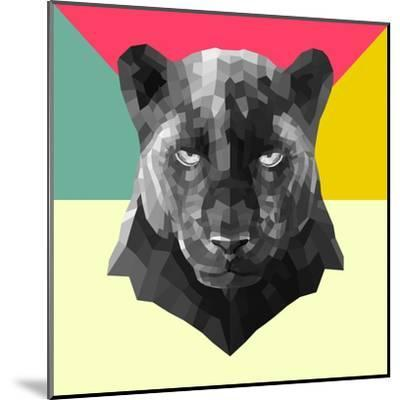 Party Panther-Lisa Kroll-Mounted Art Print