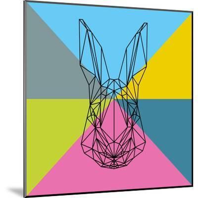 Party Rabbit-Lisa Kroll-Mounted Art Print