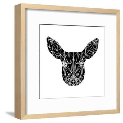 Black Baby Deer-Lisa Kroll-Framed Art Print