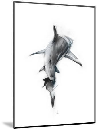 Shark 3-Alexis Marcou-Mounted Art Print