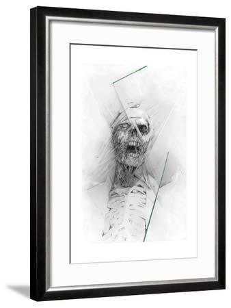 Skull 58-Alexis Marcou-Framed Art Print
