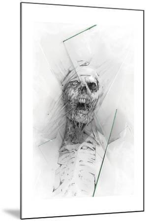 Skull 58-Alexis Marcou-Mounted Art Print