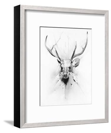 Stag-Alexis Marcou-Framed Art Print