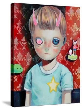 Children of This Planet 23-Hikari Shimoda-Stretched Canvas Print