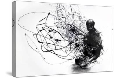 Burn Burn Burn-Agnes Cecile-Stretched Canvas Print