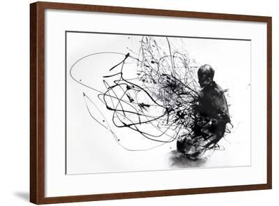 Burn Burn Burn-Agnes Cecile-Framed Art Print