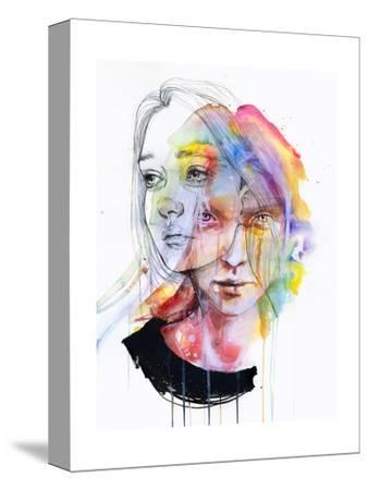 Girls Change Colors-Agnes Cecile-Stretched Canvas Print