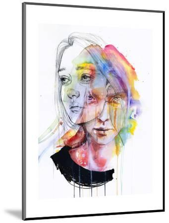 Girls Change Colors-Agnes Cecile-Mounted Art Print