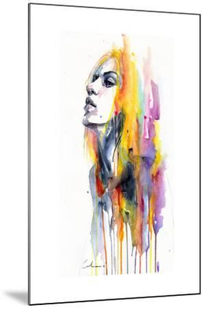 Sunshower-Agnes Cecile-Mounted Art Print