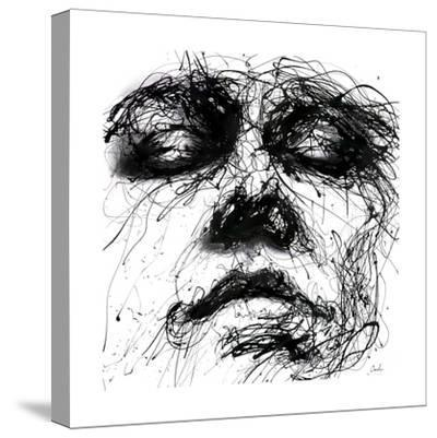 Waiting-Agnes Cecile-Stretched Canvas Print