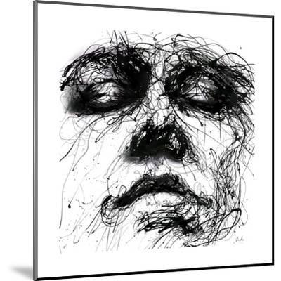 Waiting-Agnes Cecile-Mounted Art Print