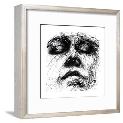 Waiting-Agnes Cecile-Framed Art Print