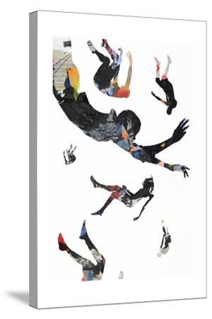 Jump-Alex Cherry-Stretched Canvas Print