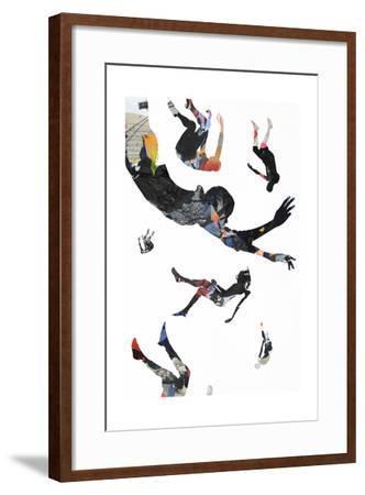 Jump-Alex Cherry-Framed Art Print