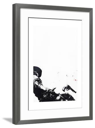 Knockin' on Heaven's Door II-Alex Cherry-Framed Art Print