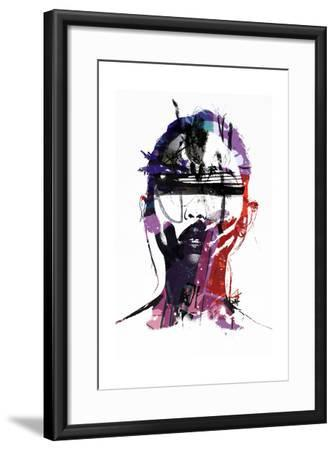 Ultraviolet-Alex Cherry-Framed Art Print