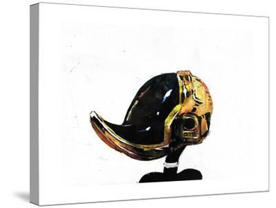 Daffy Punk-Alex Cherry-Stretched Canvas Print
