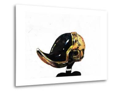Daffy Punk-Alex Cherry-Metal Print