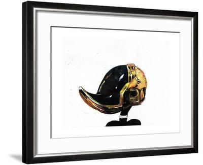 Daffy Punk-Alex Cherry-Framed Art Print