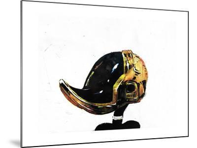 Daffy Punk-Alex Cherry-Mounted Art Print