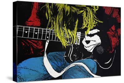 Kurt-Alex Cherry-Stretched Canvas Print