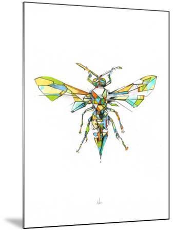 Hornet-Alexis Marcou-Mounted Art Print