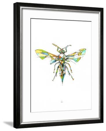 Hornet-Alexis Marcou-Framed Art Print