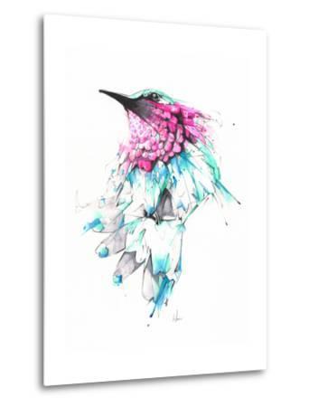 Hummingbird-Alexis Marcou-Metal Print