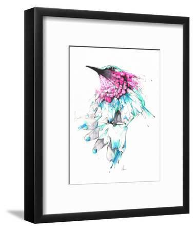 Hummingbird-Alexis Marcou-Framed Art Print