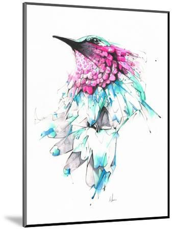Hummingbird-Alexis Marcou-Mounted Art Print