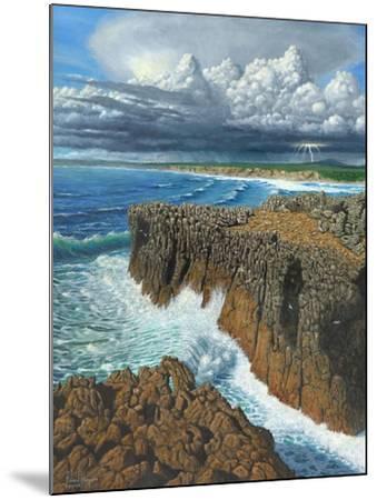 Atlantic Breakers Pontal Portugal-Richard Harpum-Mounted Art Print