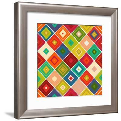 Diamante-Sharon Turner-Framed Art Print