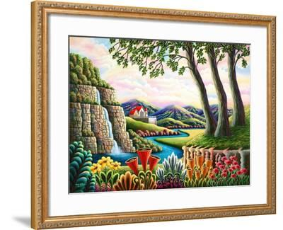 River of Dreams-Andy Russell-Framed Art Print
