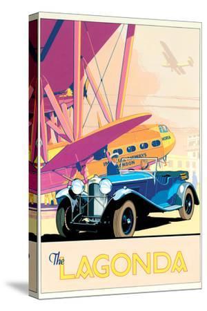 The Lagonda-Brian James-Stretched Canvas Print