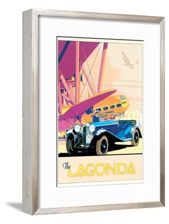 The Lagonda-Brian James-Framed Art Print
