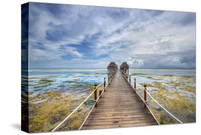 Zanzibar Pier-Marco Carmassi-Stretched Canvas Print