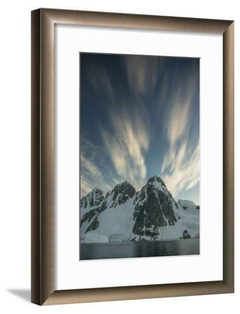 Whale's Tail, Antartica-Art Wolfe-Framed Photographic Print